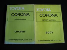 Werkplaatshandboek Toyota Corona (1974 - 1978) (Onderstel en carrosserie)