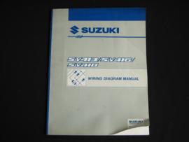 Werkplaatshandboek Suzuki Baleno (SY413, SY416 en SY418) elektrische schema's