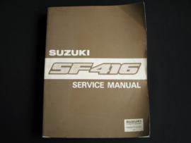 Werkplaatshandboek Suzuki Swift (SF416) (augustus 1991)