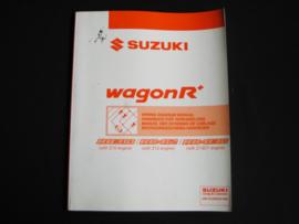 Werkplaatshandboek Suzuki WagonR+ (RB310, RB412 en RB413D) elektrische schema's