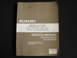 Werkplaatshandboek Suzuki Grand Vitara (SQ420WD) RHZ motor