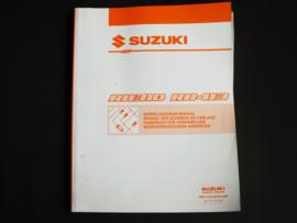 Werkplaatshandboek Suzuki WagonR+ (RB310 en RB413) elektrische schema's (3e editie)