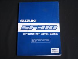 Werkplaatshandboek Suzuki Swift (SF310) supplement