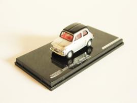 Abarth Fiat 500 695 (1964) zilverkleurig/ zwart