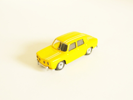 Renault 8 Gordini yellow