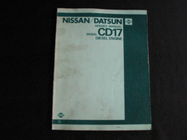 Werkplaatshandboek Nissan CD17 dieselmotor