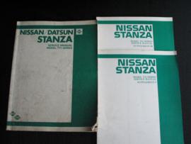 Werkplaatshandboek Nissan/ Datsun Stanza (T11)