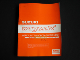 Werkplaatshandboek Suzuki WagonR+ (RB310, RB412 en RB413D) supplement