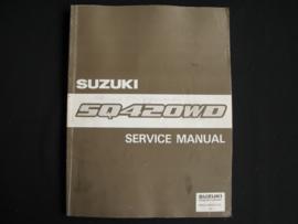 Werkplaatshandboek Suzuki Grand Vitara (SQ420WD) (juli 1998)