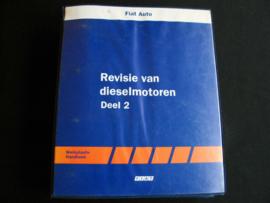 Werkplaatshandboek Fiat Revisie Dieselmotoren (1995)
