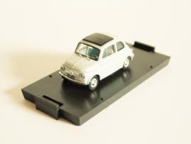 Fiat 500 D (1960) lichtgrijs