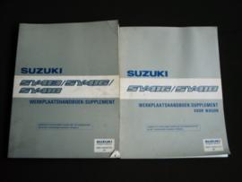 Werkplaatshandboek Suzuki Baleno (SY413, SY416 en SY418) supplement (inclusief wagon)