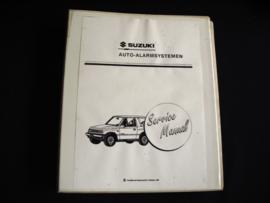 Werkplaatshandboek Suzuki Auto-Alarmsystemen