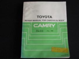 Werkplaatshandboek Toyota Camry (Onderstel en carrosserie)
