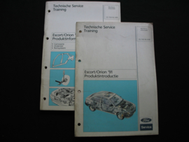 Productinformatie Ford Escort/ Orion (1991)