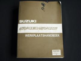 Werkplaatshandboek Suzuki Baleno (SY413 en SY416)