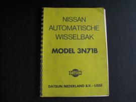 Werkplaatshandboek Nissan/ Datsun automatische wisselbak (3N71B)