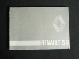 Instructieboek Renault 5