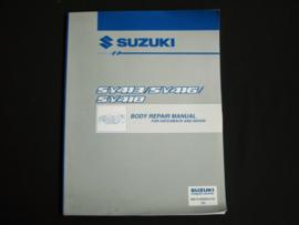 Werkplaatshandboek Suzuki Baleno (SY413, SY416 en SY418) carrosserie