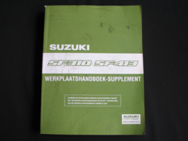 Werkplaatshandboek Suzuki Swift (SF310 en SF413) supplement