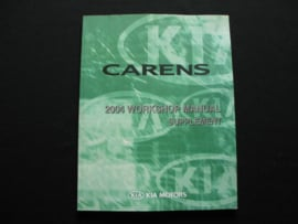 Werkplaatshandboek Kia Carens (2004) (Supplement)