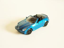 Mercedes Benz SLK 55 AMG (2005) blauw
