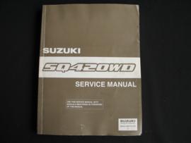 Werkplaatshandboek Suzuki Grand Vitara (SQ420WD)