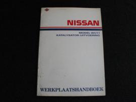 Werkplaatshandboek Nissan Bluebird (WU11) Katalysator-uitvoering