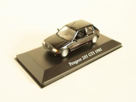 Peugeot 205 GTI (1985) zwart