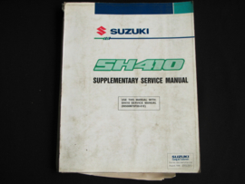 Werkplaatshandboek Suzuki Alto (SH410) supplement