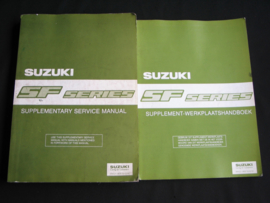 Werkplaatshandboek Suzuki Swift (SF310, SF413 en SF416) supplement