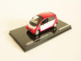 Mitsubishi iMiEV rood/ wit