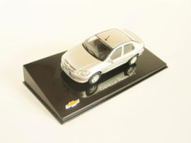 Chevrolet Prisma (2012) zilverkleurig