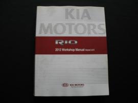 Werkplaatshandboek Kia Rio (2012) (Koppeling, Transmissie, Vering, Remmen, Verwarming en Airco)