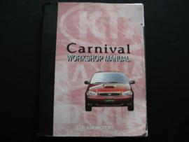 Werkplaatshandboek Kia Carnival (1998)