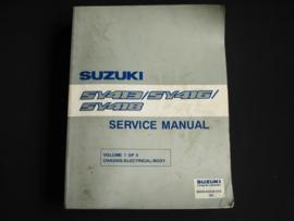 Werkplaatshandboek Suzuki Baleno (SY413, SY416 en SY418) deel 1