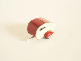 Caravan rood/ wit