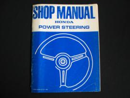 Werkplaatshandboek Honda Accord (1980) Servostuur