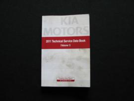 Technisch data boekje Kia (2011)