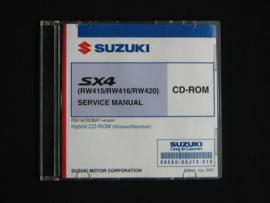 Werkplaats CD Suzuki SX4 (RW415, RW416 en RW420) (juli 2007)