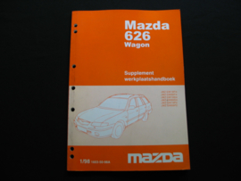 Supplement werkplaatshandboek Mazda 626 Wagon