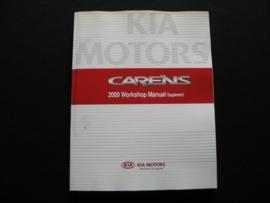 Werkplaatshandboek Kia Carens (2009) (Supplement)
