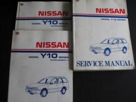Werkplaatshandboek Nissan Sunny Wagon (Y10)