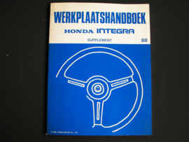 Werkplaatshandboek Honda Integra Supplement (1988)
