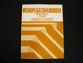 Werkplaatshandboek Honda PX4B Automatische Transmissie