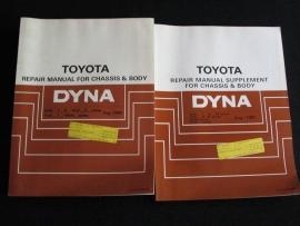 Werkplaatshandboek Toyota Dyna (Onderstel en carrosserie)