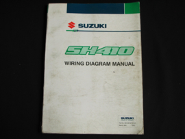 Werkplaatshandboek Suzuki Alto (SH410) elektrische schema's