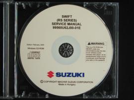 Werkplaats CD Suzuki Swift (RS series) (februari 2005)