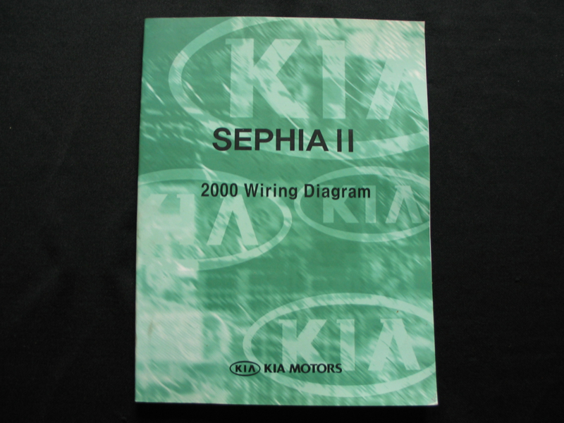 Workshop Manual Kia Sephia Ii 2000 Wiring Diagram Reprinted Kia Workshop Manuals Italcars Schaalmodellen