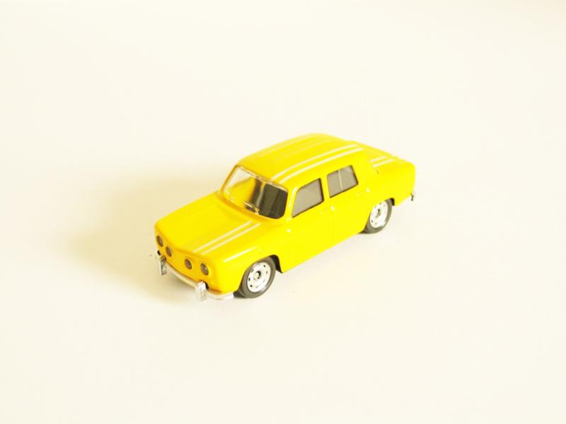 Renault 8 Gordini geel